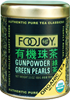 Organic Gunpowder Green tin image